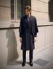 Model Show (Deep Grey Mixed Version) coat CT00269 blouse TP00149M