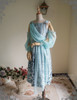 Front View w/o Skirt Piece (Pale Blue + Mint Blue Chiffon Ver.)
