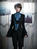 Model Show (Black+Dark Blue Ver.) (blouse: TP00086N, shorts: SP00006N)