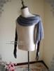 Sash Detailed View  (light linen/cotton blend in light grey + grey crepe chiffon Ver.)