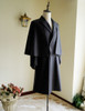 None in Circus, Retro Dandy Britain Gentlemen Style Worsted Wool Men's Long Inverness Coat*2colors Instant Shipping