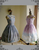 Group View (Left: tulle petticoat from DR00196,  Right: birdcage petticoat: UN00027)