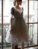 Model Show (Light Grey + White Ver.) (tulle petticoat underneath: UN00026)