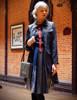 Model Show (Black + Dark Blue Ver.) jacket CT00283, tote P00618