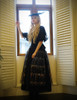 Model Show (Black Version) Skirt & Shawl: SP00184 hat p00625