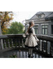 Model Show (Off-White Version) (dress DR00209 beret P00632 tulle petticoat: UN00026, birdcage petticoat: UN00027)