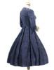 Side View w/o Cape Pieces (Dark Blue Ver.) (birdcage petticoat: UN00028)
