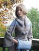 Medieval Borgia, Gothic Elegant Retro Wool Blend Handwarmer Muff*2colors