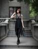 Model Show Dress DR00227, hat P00574