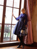 Model Show (Dark Blue Ver.) (JSK: DR00221, petticoat: UN00026, UN00027)