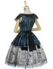 Back View (Dark Green + Black Ver.) (petticoat: UN00019, UN00026)