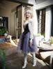 Gothic Oversize Black Dress Halter Vest Ballet Skirt Midi Dress