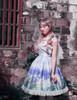 Model Show w/o Skirt Piece (Hyacinth Blue + White Ver.) (headdress: P00626, petticoat: UN00026)