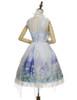 Back View w/o Capelet (Hyacinth Blue + White Ver.) (petticoat: UN00026, UN00027)