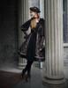 Model Show (Brown Ver.) (beret: P00632, dress: DR00209, blouse: TP00161, petticoat: UN00027)