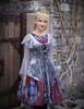 Model Show (Burgundy + Light Grey Ver.) (vest overdress: CT00293, petticoat: UN00026) crown NOT for sale