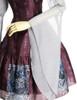 Detail View (Burgundy + Light Grey Ver.) (petticoat: UN00026)