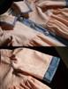 Detail View under natural sunlight (Antique Pink Jacquard Cotton Version)