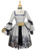Co-ordinate Show (Black + Silver Black Mixed Lace Ver.) (dress: DR00170N, petticoat: UN00026)