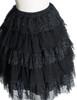 Detail View (Black + Silver Black Mixed Lace Ver.) (petticoat: UN00026)