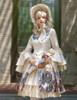 Model Show (Ivory + Gold Ivory Mixed Lace Ver.) (bonnet: P00577N, dress: DR00170N, petticoat: UN00026)