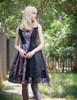 Model Show (Pale Purple + Black Chiffon & Beaded Starlight Tulle Ver.) (necklace: A10003, petticoat: UN00026)