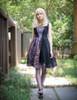 Model Show (Pale Purple + Black Chiffon & Beaded Starlight Tulle Ver.) (necklace: A10003, petticoat: UN00026, shoes: D00012)