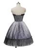 Back View (petticoat: UN00026, birdcage petticoat: UN00019)