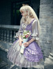 Model Show (Vintage Lilac + Warm Grey Ver.) (crown veil: P00623, petticoat: UN00026)