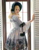 Model Show (Light Grey + Black Lace Ver.) (dress: DR00170N, skirt: SP00194, petticoat: UN00026)
