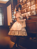 Model Show (Light Grey + Black Lace Ver.) (dress: DR00235, blouse: TP00158, petticoat: UN00019)