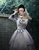 Model Show (Light Grey + Black Lace Ver.) (jacket: CT00291, dress: DR00235, petticoat: UN00019)