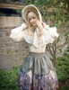 Model Show (White Ver.) (bonnet: P00577N, blouse: TP00165, skirt: SP00192, petticoat: UN00026)