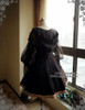 Back Full View (Black Ver.) (birdcage petticoat: UN00019)