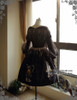 Front View w/o JSK (Black Ver.) (birdcage petticoat: UN00019)