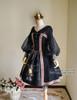 Front View w/o Shawl (Black Ver.) (birdcage petticoat: UN00019)