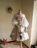 Front View w/o Hood & Shawl (White Ver.) (birdcage petticoat: UN00019)