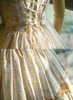 Detail View under natural sunlight (White + Gold Version)
