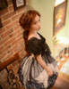 Model Show (White + Black Ver.) (petticoat: UN00019, brooch: P00589)
