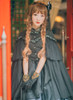 Model Show (Black Ver.) (headdress: P00608, P00589, dress underneath: DR00237, gloves: P00581)