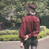 Model Show (Cherry Red Ver.) (hat: P00598, shorts: SP00191)