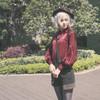 Model Show (hat: P00598,  blouse: TP00170)