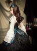 Model Show (Spirit Green + Black Ver.) (headdress: P00638, blouse: TP00142N, petticoat: UN00026) *beaded headdress NOT for sale