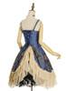 Back View (Mercury Blue + Ivory Ver.) (petticoat: UN00026)