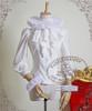 Elegant Gothic Aristocrat Victorian Ruffle Collar&Cuffs