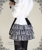 Capped Pawn Cutie Cyber Lolita Tiered Bustle Ruffle Short Bloomers*Instant Shipping
