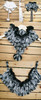 Classic Lolita Pleated Fake Fur Collar/Shawl*2colors