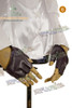 Punk Fake Leather Fingerless Half Palm Gloves*7colors Instant Shipping