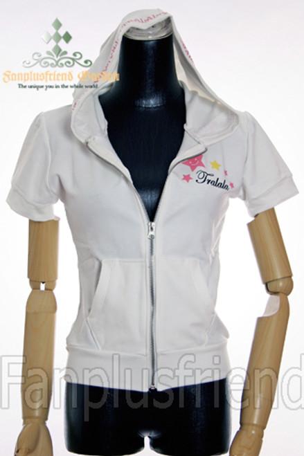 Last Chance: Sweet Casual Lolita: Short Sleeves Hood Cutsew*2colors