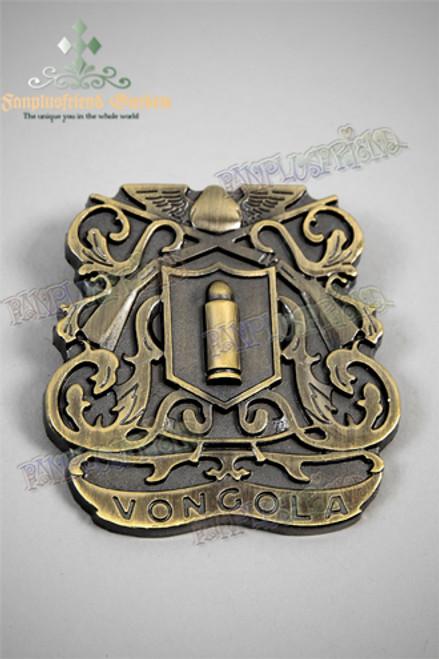 Gothic Vongola Bullet & Guns Brooch (Reborn!)